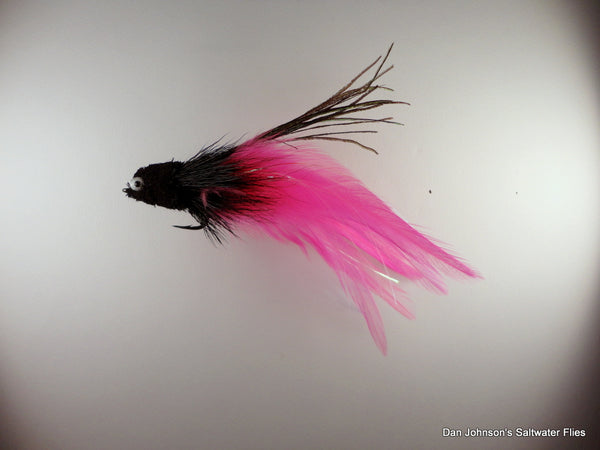 Andino Deceiver - Black Pink, Hackle  IF015B