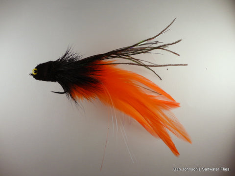 Andino Deceiver - Black Orange, Hackle  IF015