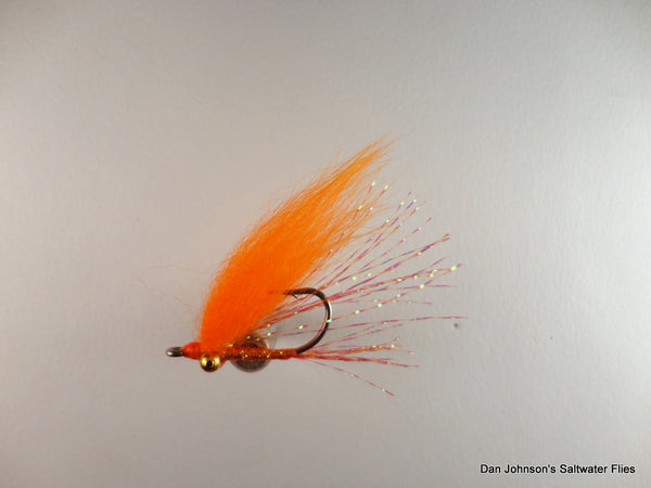 Christmas Island Special - Orange, Bead Eye - BF052