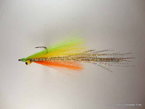 Flashtail Clouser - Hot Tamale IF106A