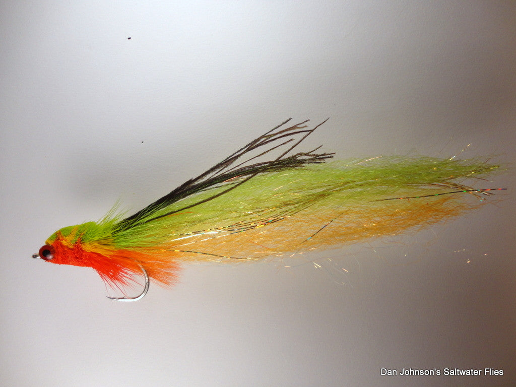 Flat Nose Andino Deceiver - Hot Tamale, Synthetic IF131A