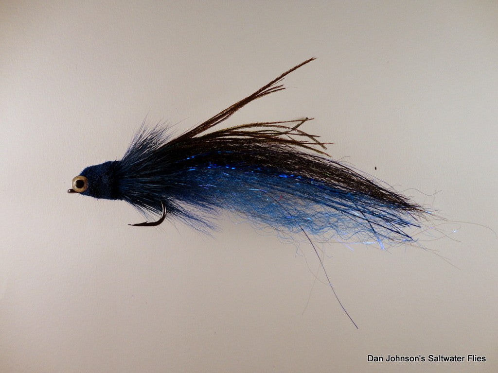 Flat Nose Andino Deceiver - Blue Black, Synthetic IF163