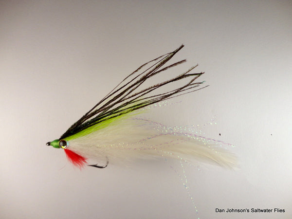Lefty's Deceiver   Chartreuse White (GS004)