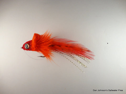 Deerhair Diver - Red Orange GS014K