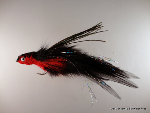 Andino Deceiver - Black Red, Hackle  IF006A