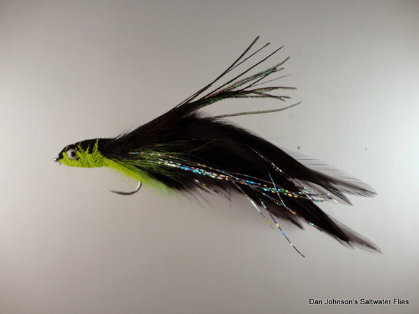 Andino Deceiver - Black Chartreuse, Hackle  IF008A