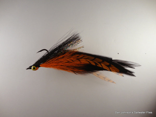 Golden Dorado DeClouser - Orange Black  IF031