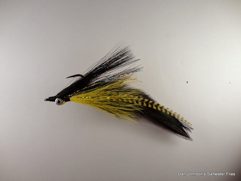 Golden Dorado DeClouser - Yellow Black  IF034