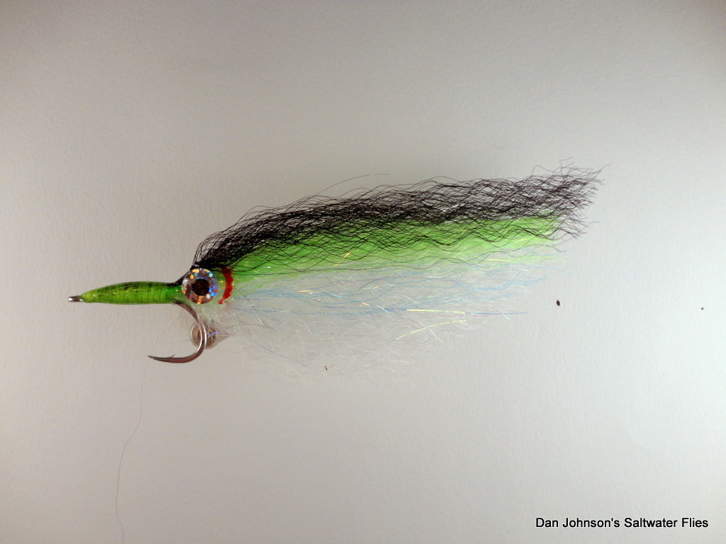 GT Flashy Profile - Black Chartreuse  IF060
