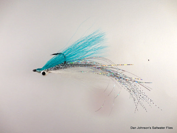 Flashtail Clouser - Light Blue White IF104