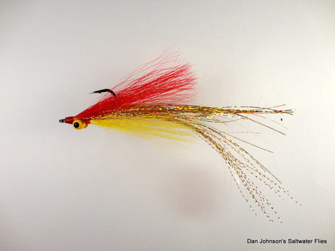 Flashtail Clouser - Red Yellow IF106