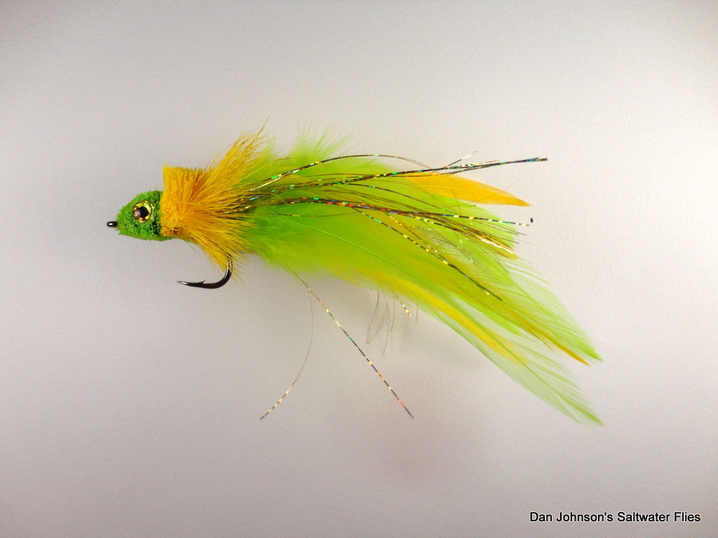 Mega Diver - Chartreuse Yellow IF108