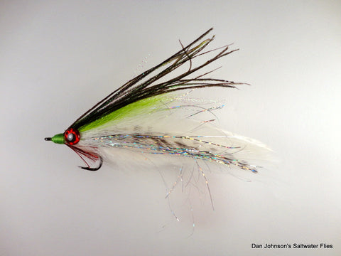 Big Eye Deceiver - Chartreuse White IF115