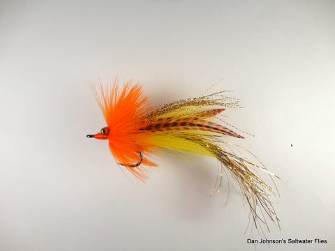Flashtail Whistler -Orange Yellow Gold IF121