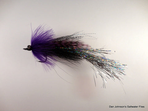 Flashtail Whistler - Purple Black Silver IF125