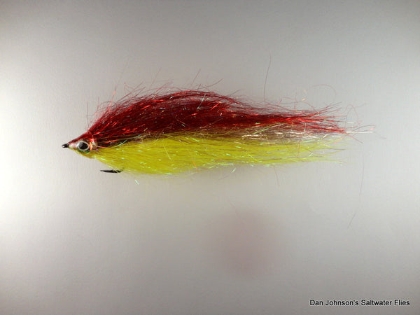 Angel Hair Baitfish - Red Yellow IF130