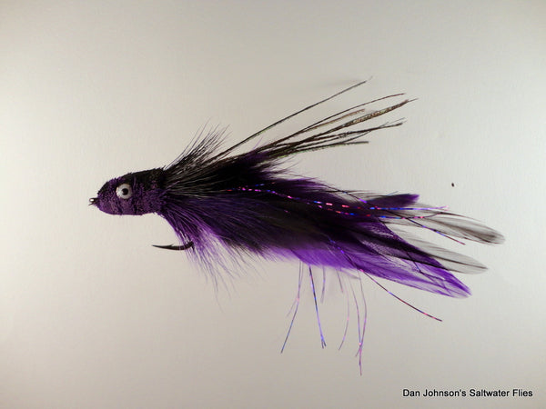 Andino Deceiver - Purple Black, Hackle - IF160