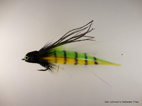 Andino Deceiver - Chartreuse Yellow, Craft Fur IF175