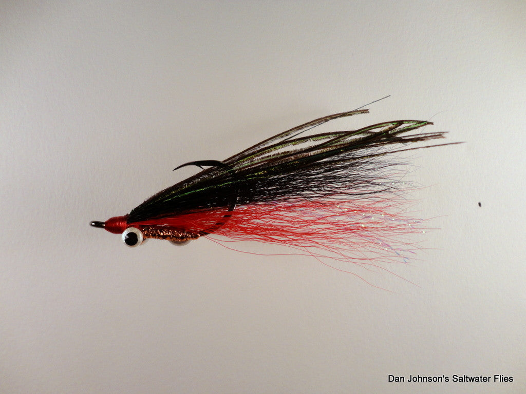 Tigerfish Clouser - Red Black - IF200