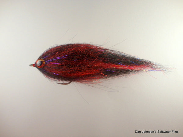 BP Brush Fly - Red Black  IF276
