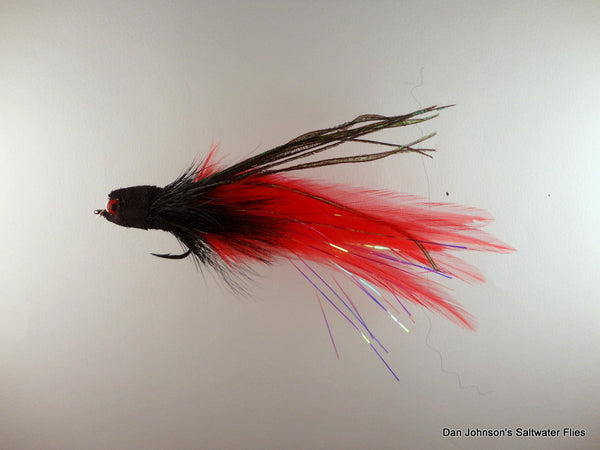 Andino Deceiver - Black Red, Hackle  IF362