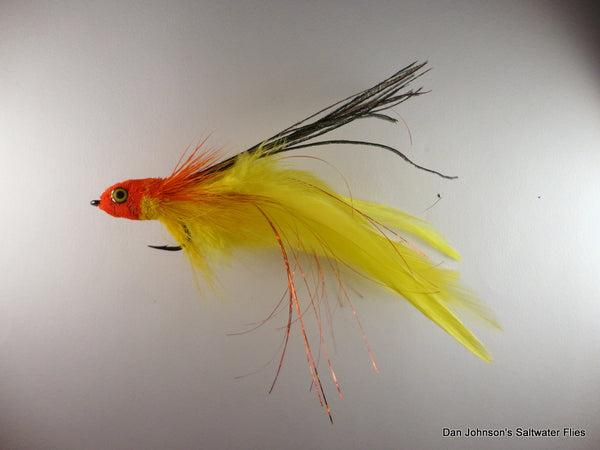 Andino Deceiver - Orange Yellow, Hackle  IF408