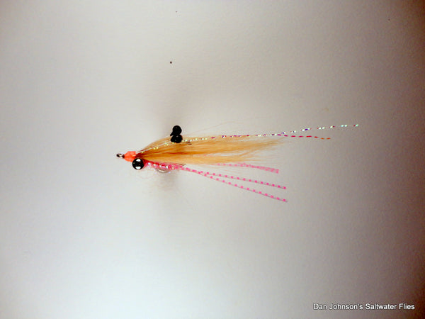 Ghost Shrimp - Tan Pink, Brass Eye  IF571