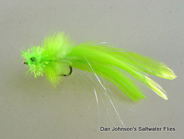 Redfish Candy - Chartreuse  IN007