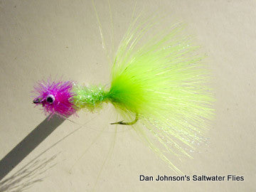 Redfish Blossom - Hot Pink Chartreuse  IN047