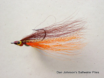Clouser Minnow - Brown Orange  IN068