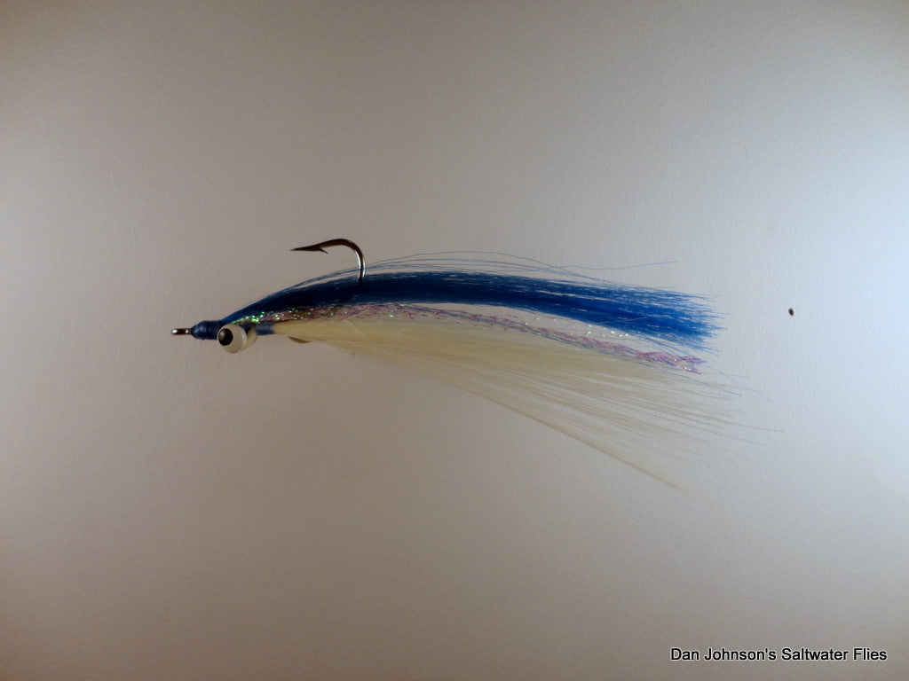 Clouser Minnow - Synthetic Blue White  IN077SYN