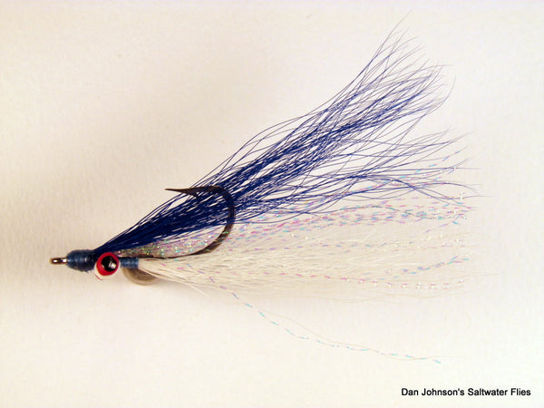 Clouser Minnow - Blue White  IN077