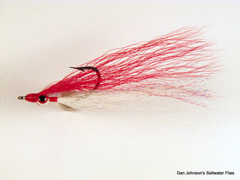 Clouser Minnow - Red White  IN079