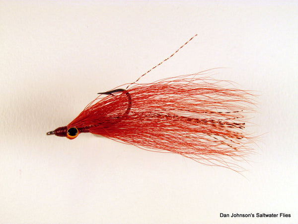 Clouser Minnow - Rust Copper  IN081