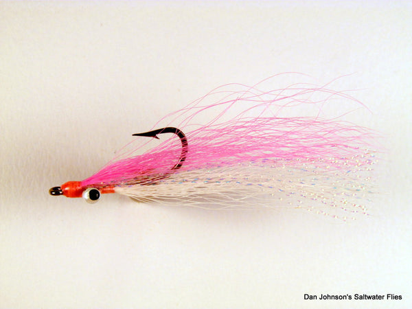 Clouser Minnow - Pink White  IN082A