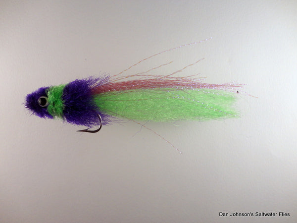 Louisiana Toad Fly - Purple Chartreuse IN153