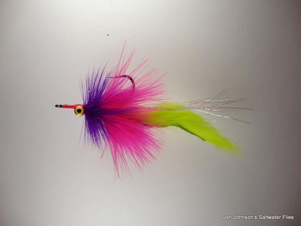 Red Whacker Purple Hot Pink Chartreuse - IN160
