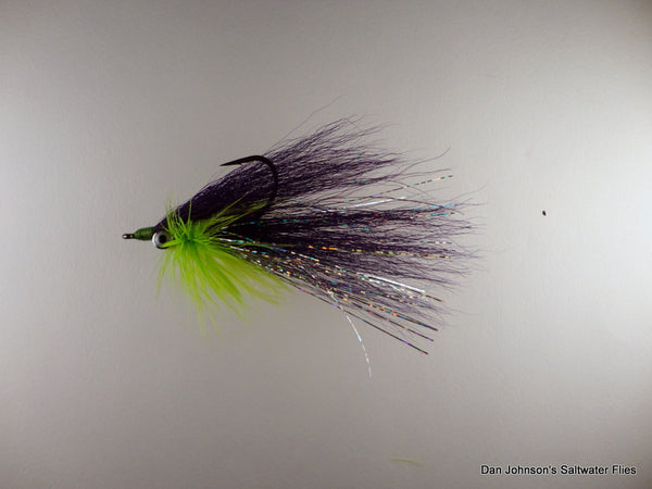 Bearded Clouser - Purple Chartreuse IN161