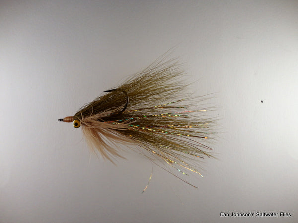 Bearded Clouser - Tan Olive IN163