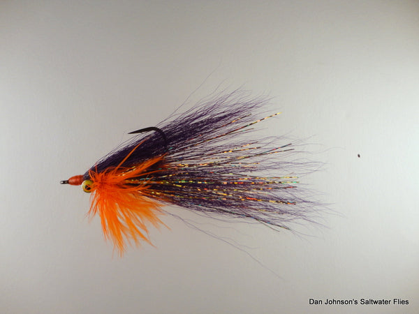 Bearded Clouser - Orange Purple IN165