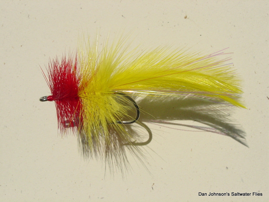 Mexican Tarpon Seaducer - Red/Yellow  BTP16