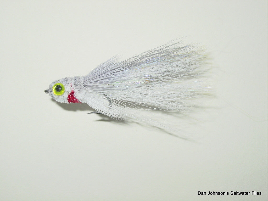Rattle Mullet - Gray White  GS001A