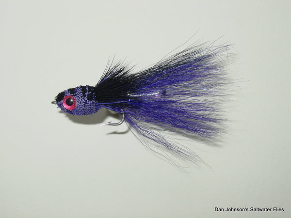 Rattle Mullet - Purple Black  GS001B