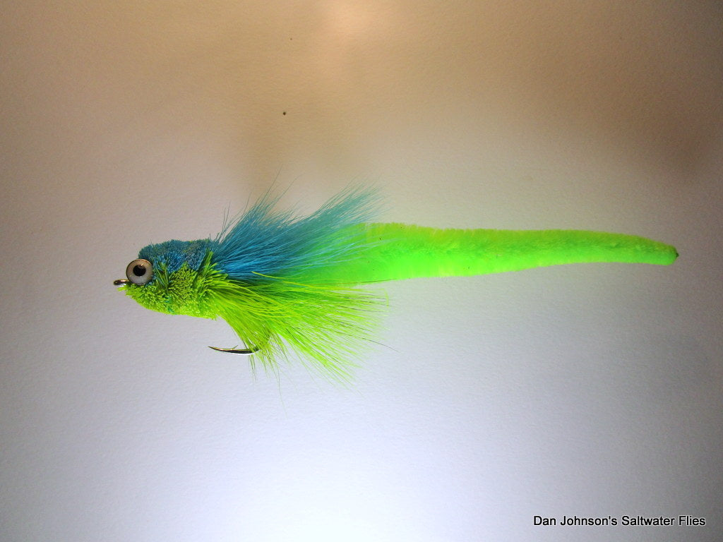 Dragon Tail Tarpon Andino - Blue Chartreuse  TP082