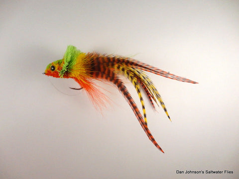 Mega Diver - Yellow Perch - Hackle WW005