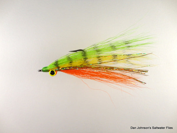 Pike Clouser - Yellow Perch - WW011