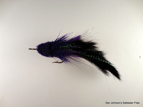 Pusherhead Pike Bunny - Purple Black WW017