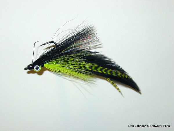 Golden Dorado DeClouser - Chartreuse Black  IF030