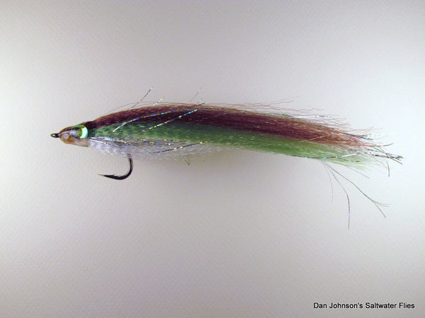 Ultrahair Baitfish Brown Green White IF076A
