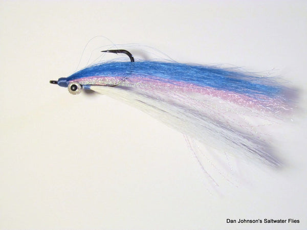 Offshore Clouser - Blue Pink White  IF083